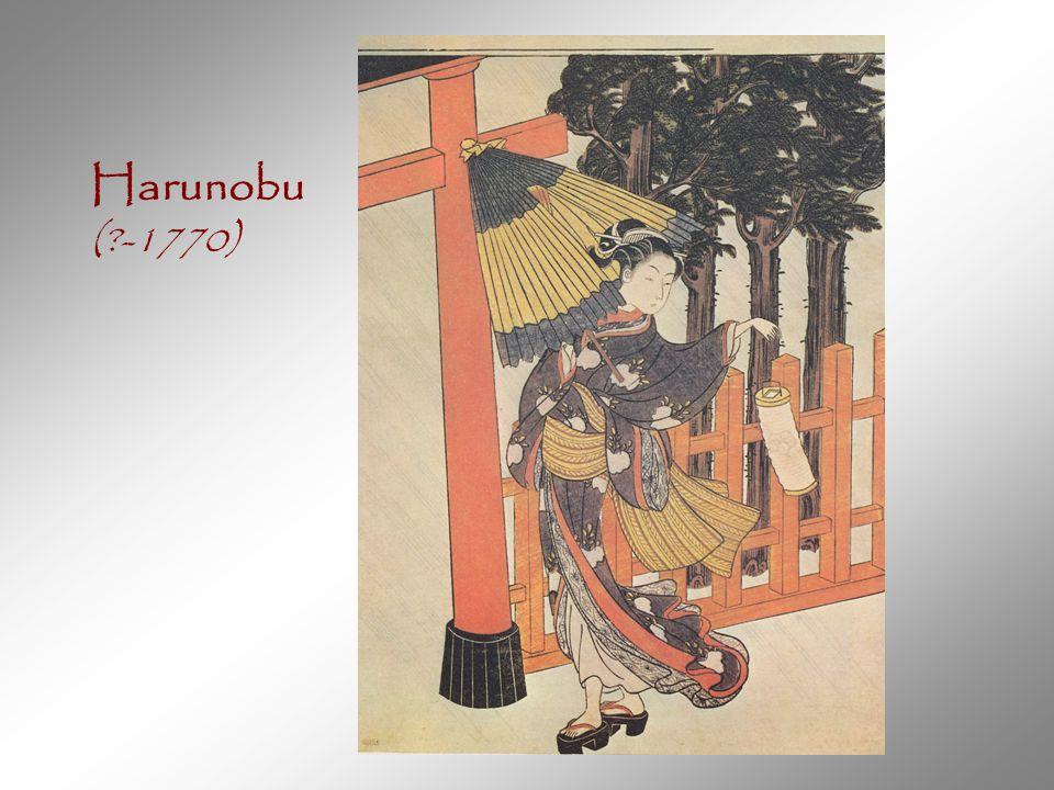 Harunobu ( -1770)