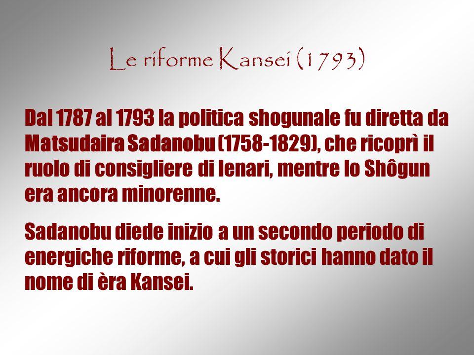 Le riforme Kansei (1793)