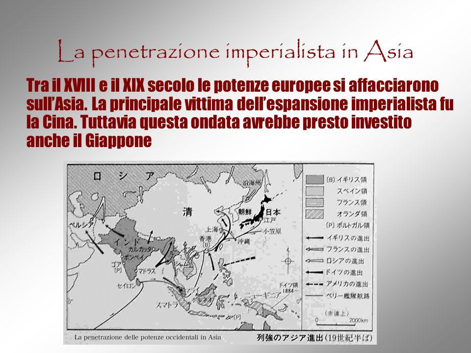 La penetrazione imperialista in Asia
