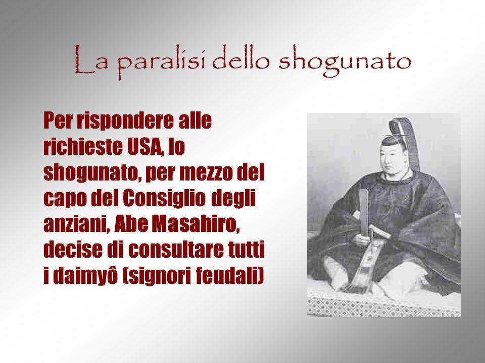 La paralisi dello shogunato