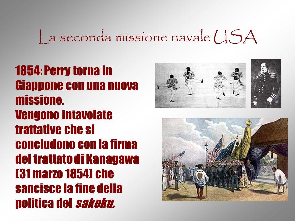 La seconda missione navale USA