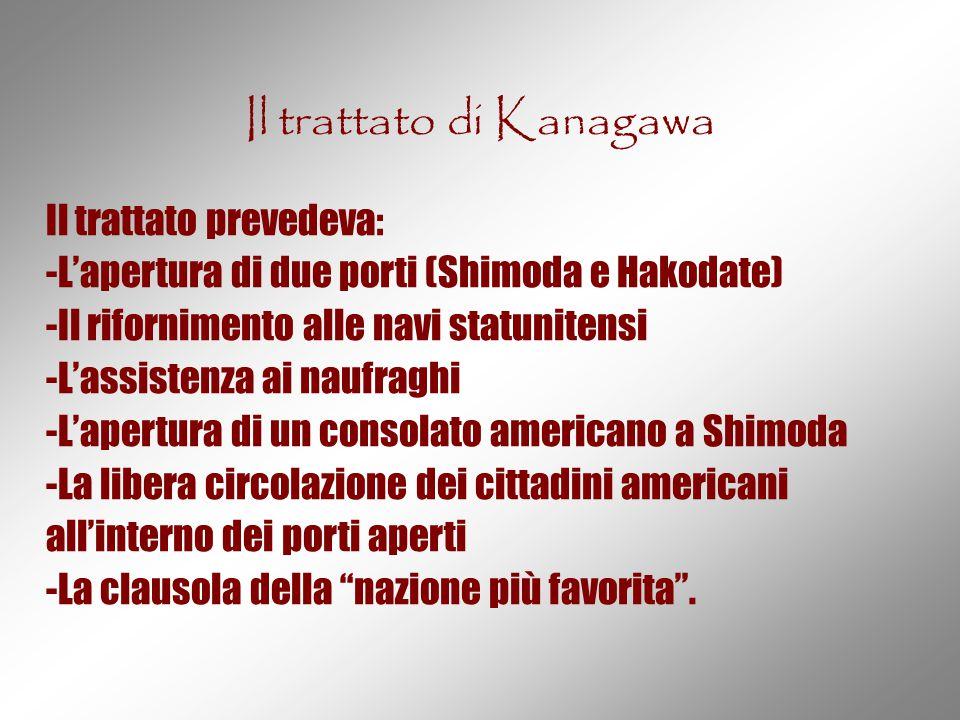 Il trattato di Kanagawa