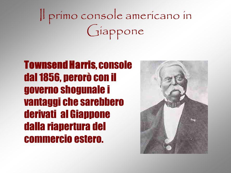 Il primo console americano in Giappone