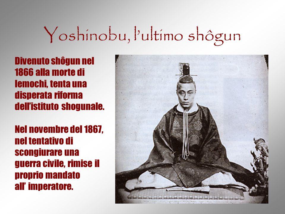 Yoshinobu, l'ultimo shôgun