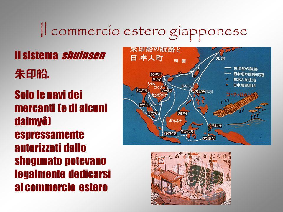 Il commercio estero giapponese