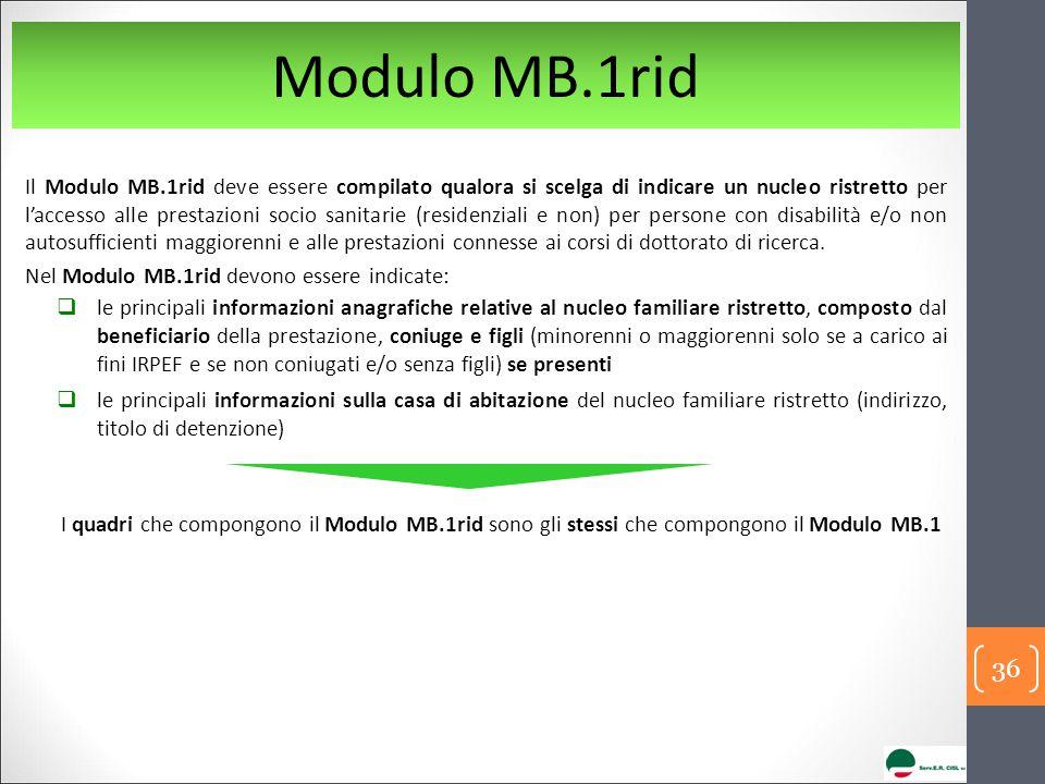 Modulo MB.1rid