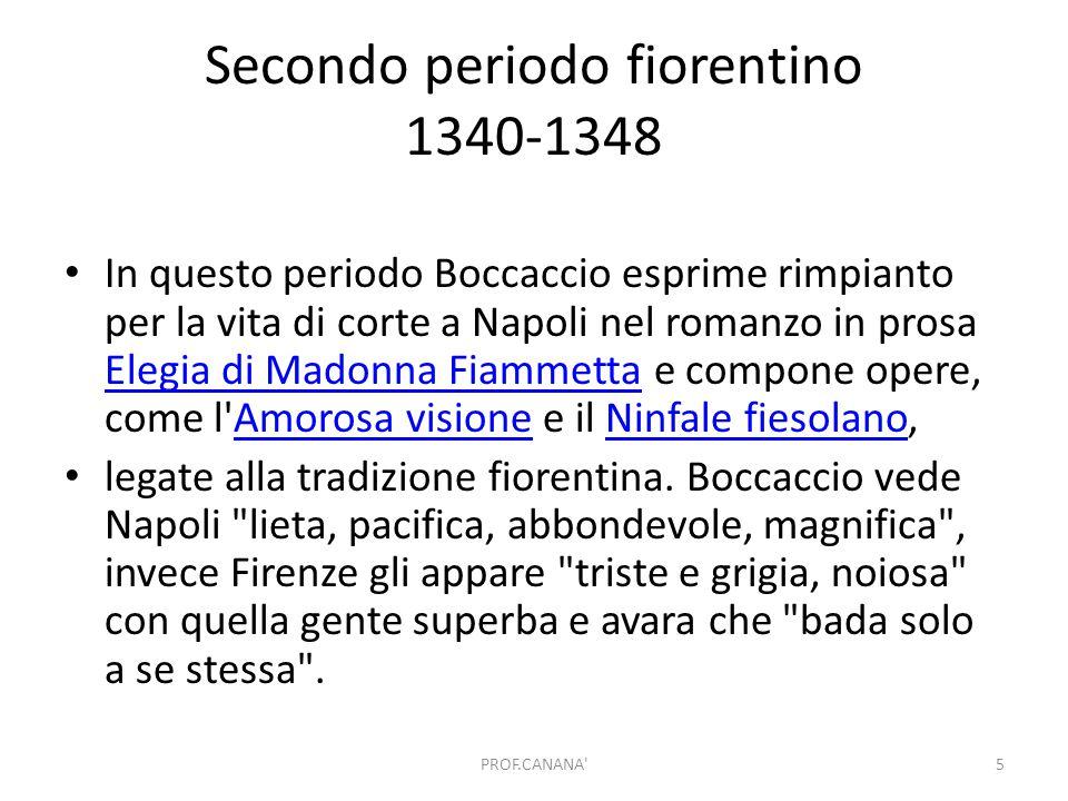Secondo periodo fiorentino 1340-1348
