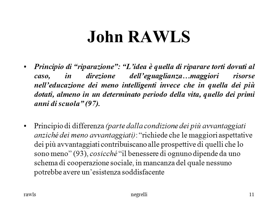 prima facie and rawls' justice thoery The following two chapters outlined rawls's general theory of justice (chapter iv) and his views concerning the particular question of justice between generations (chapter v) in the concluding chapters of this dissertation, these heretofore separate analytic and expository.