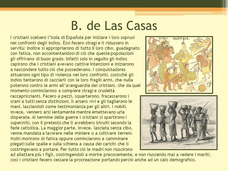 B. de Las Casas