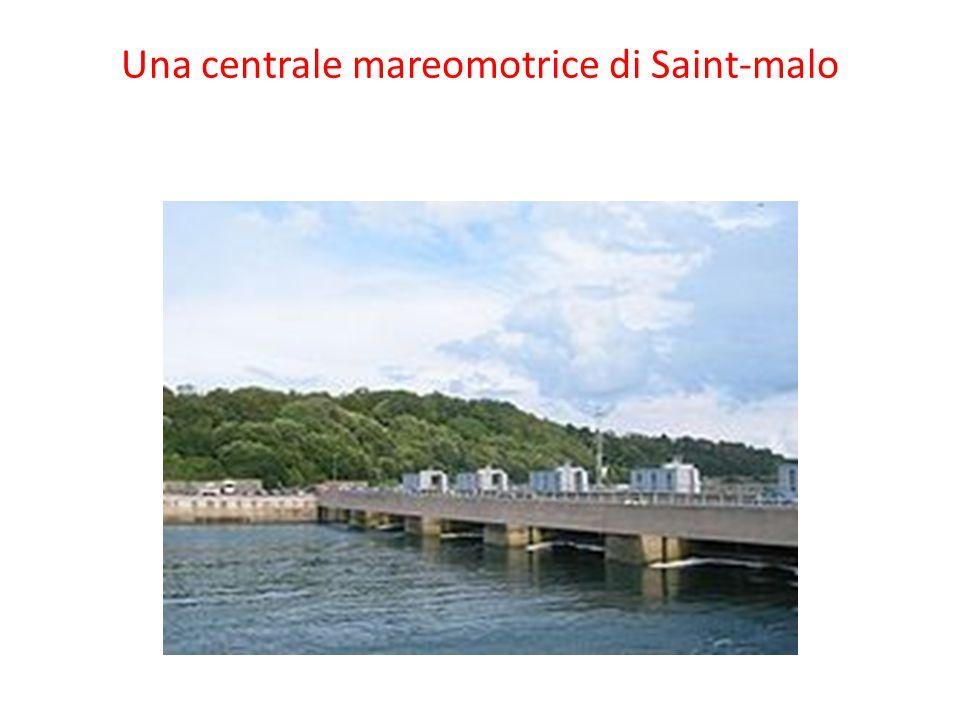 Una centrale mareomotrice di Saint-malo