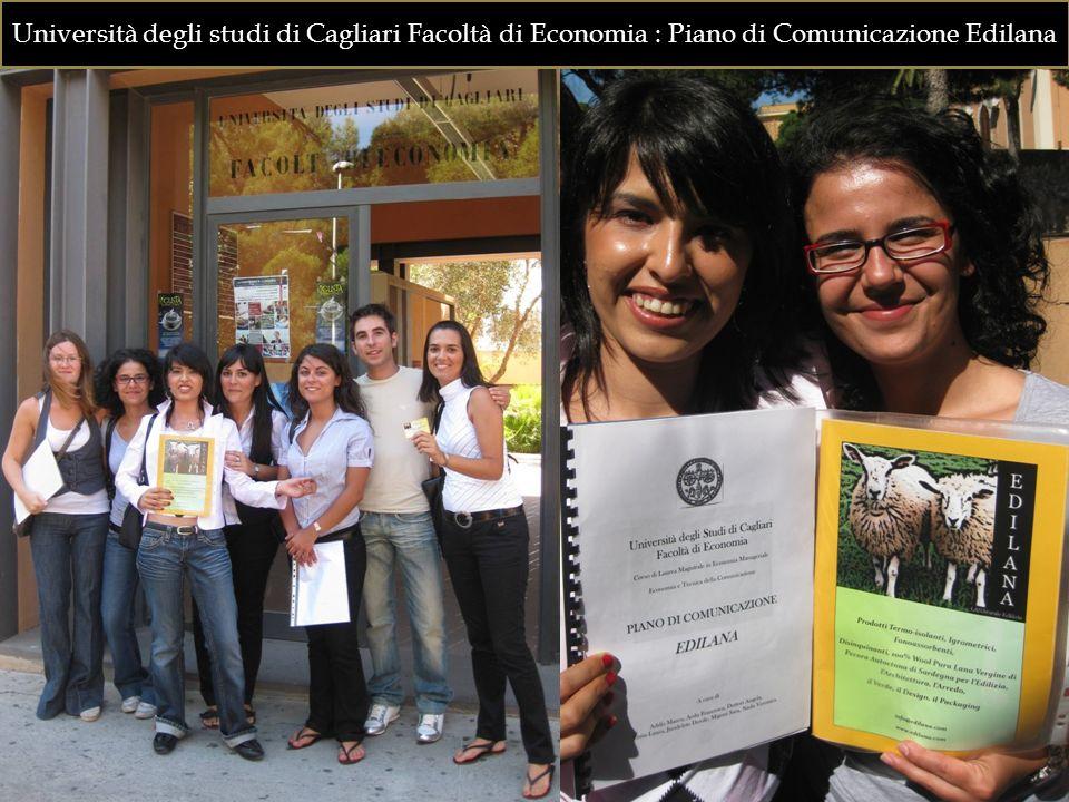 Università degli studi di Cagliari Facoltà di Economia : Piano di Comunicazione Edilana