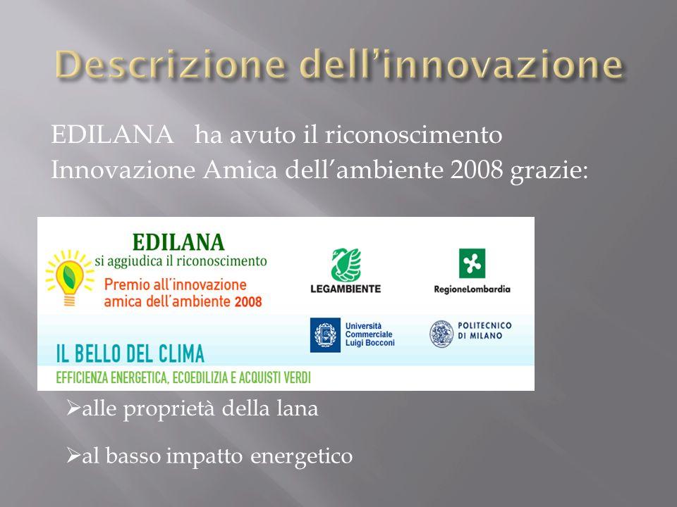 Descrizione dell'innovazione
