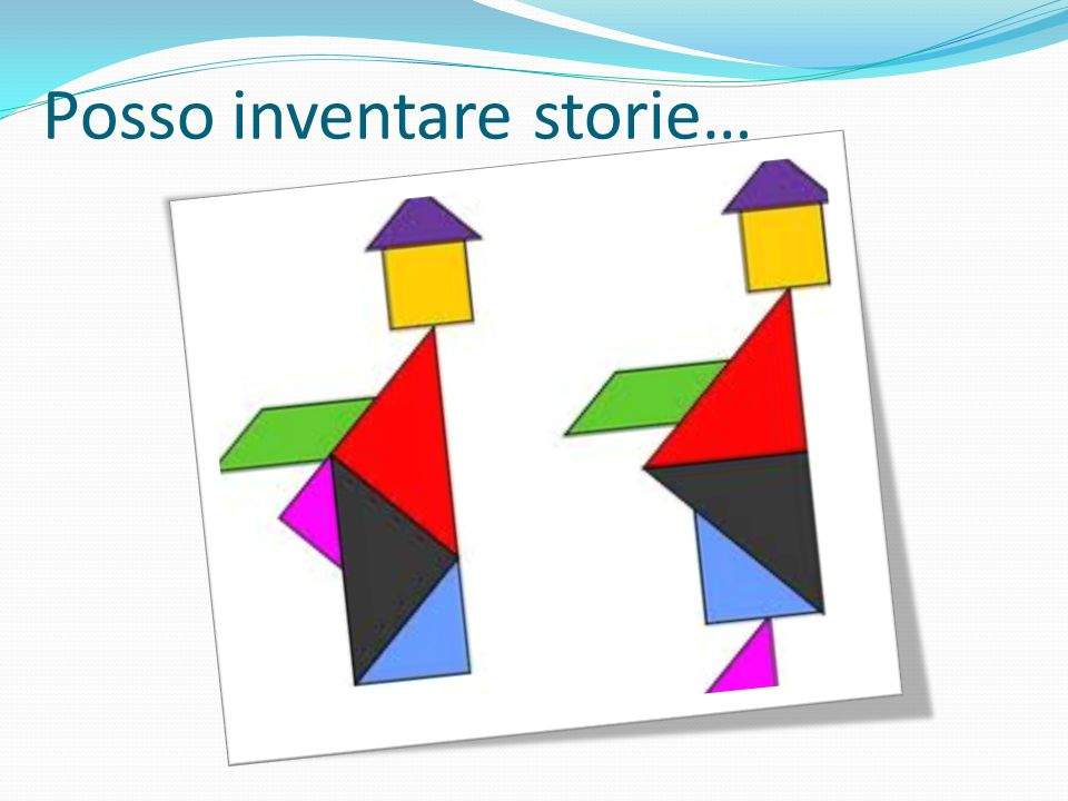 Posso inventare storie…