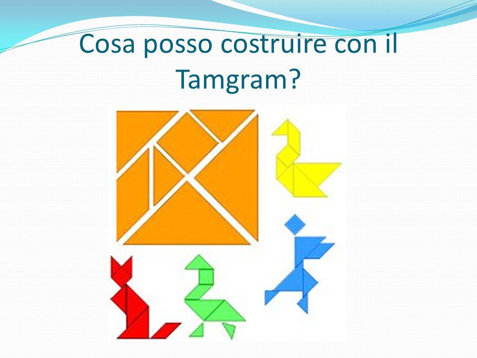Cosa posso costruire con il Tamgram