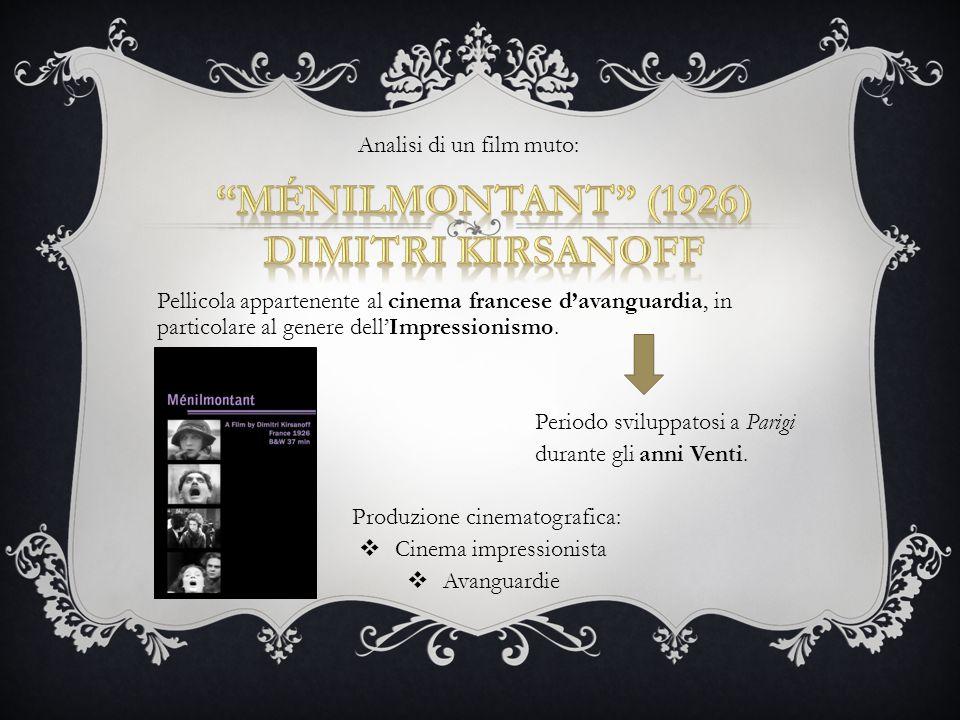 Ménilmontant (1926) Dimitri Kirsanoff