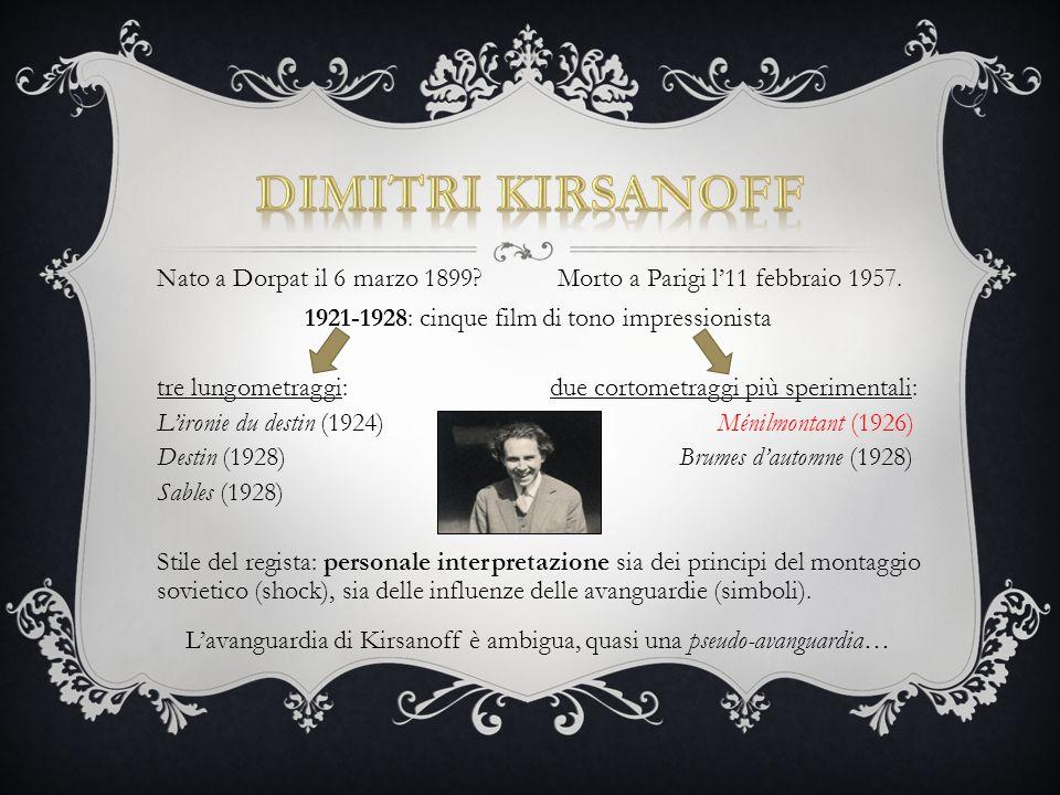 Dimitri Kirsanoff