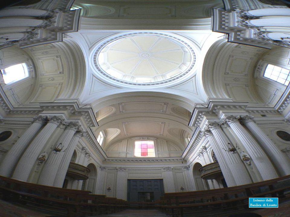 Interno della Basilica di Loreto