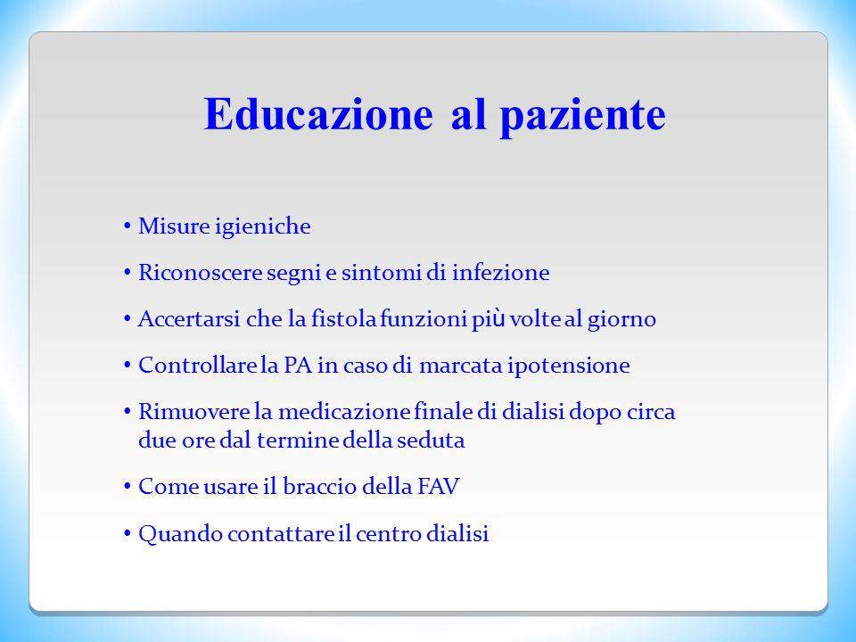 Educazione al paziente