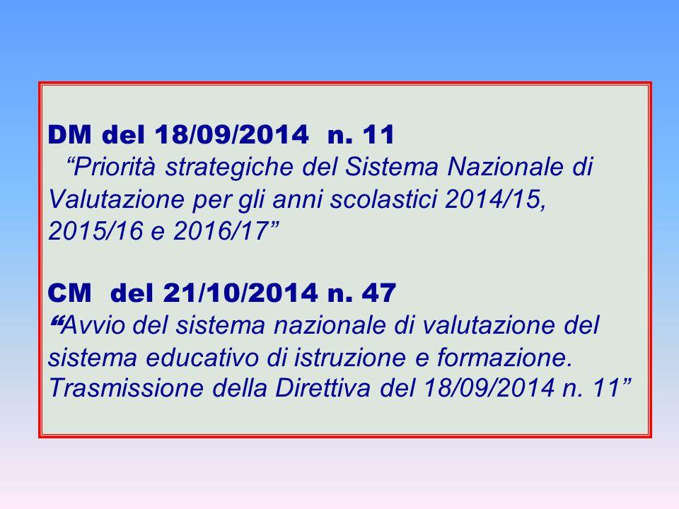 DM del 18/09/2014 n.