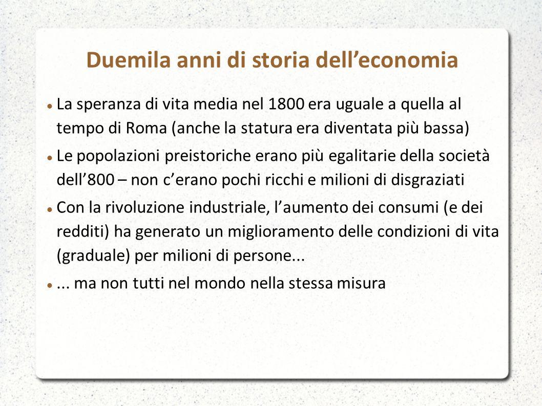 Duemila anni di storia dell'economia