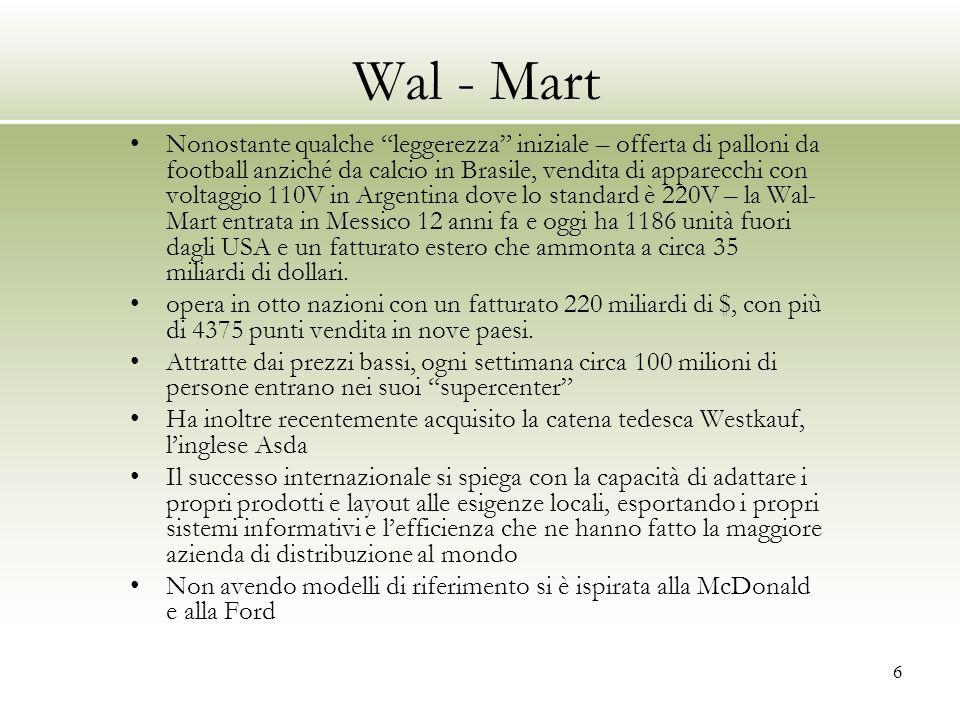 Wal - Mart