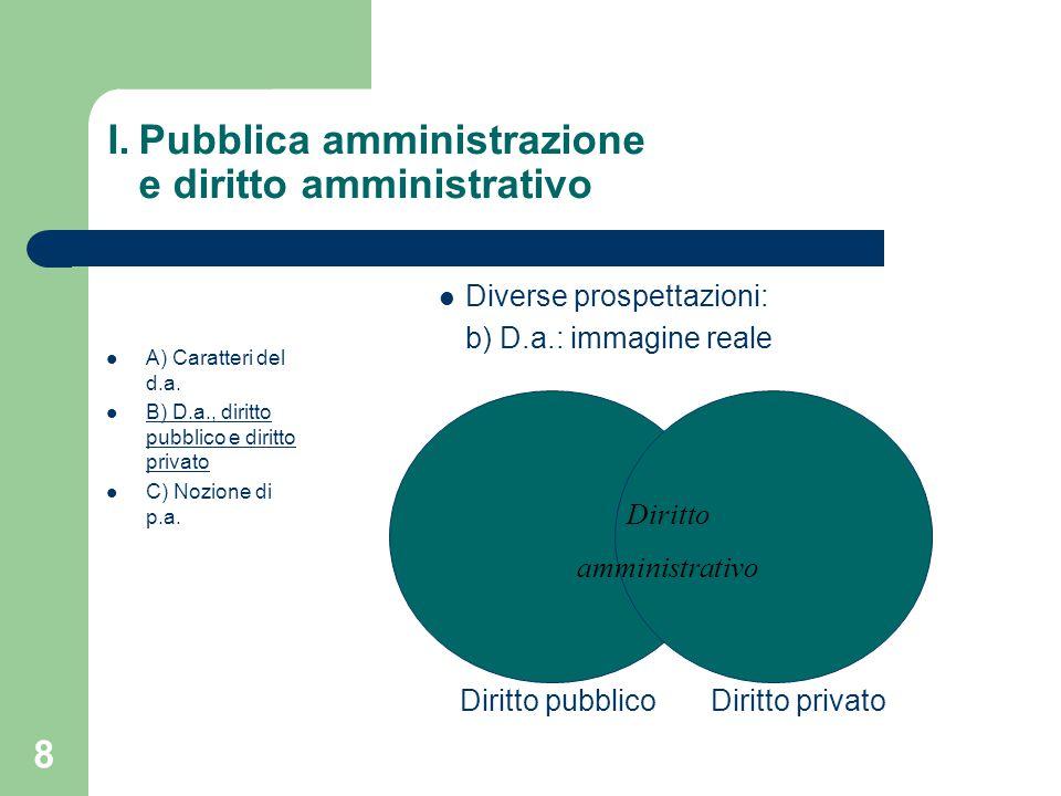 Pubblica amministrazione e diritto amministrativo