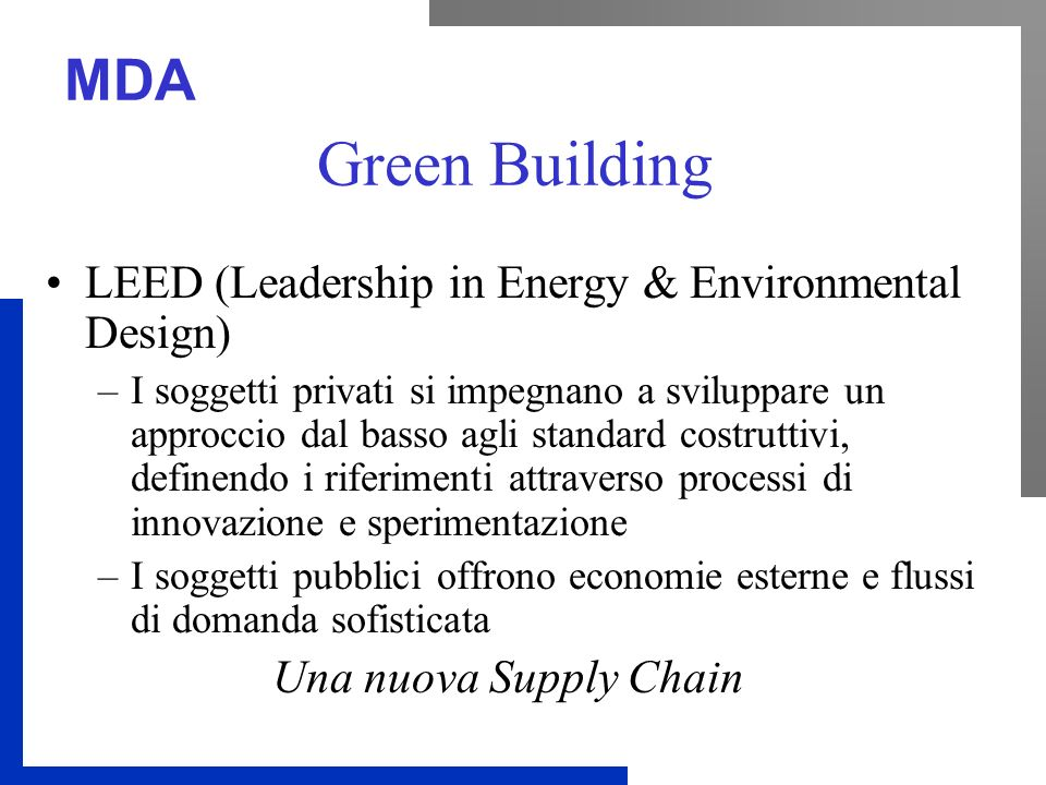Green Building LEED (Leadership in Energy & Environmental Design)