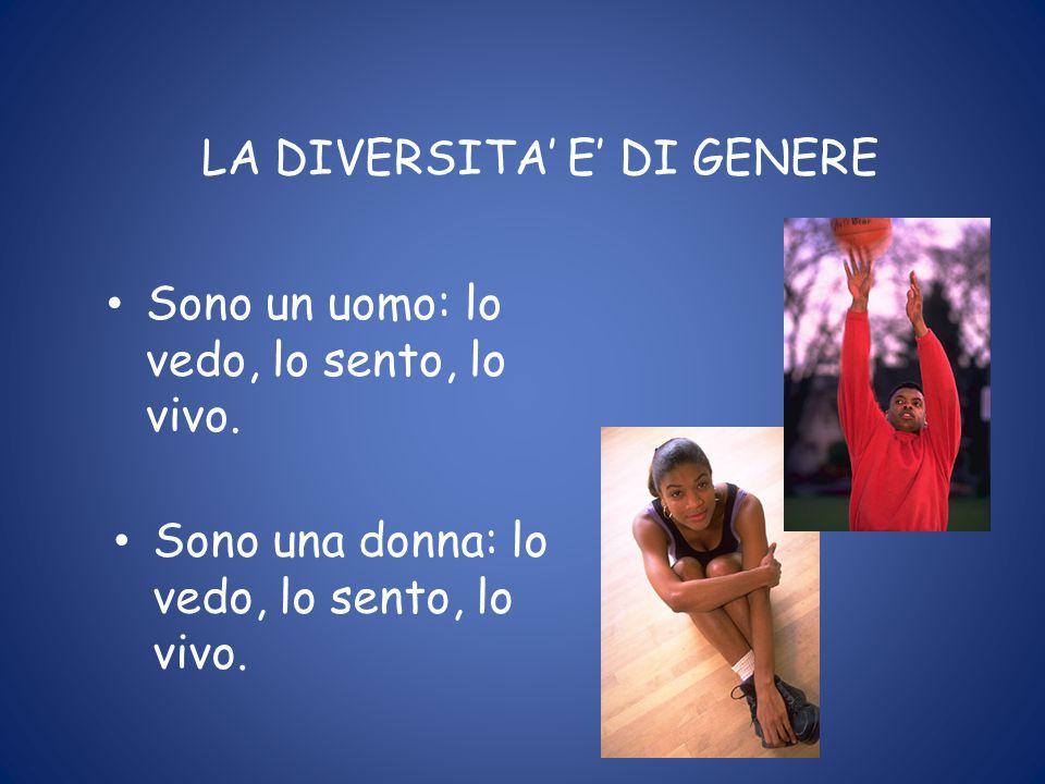 LA DIVERSITA' E' DI GENERE