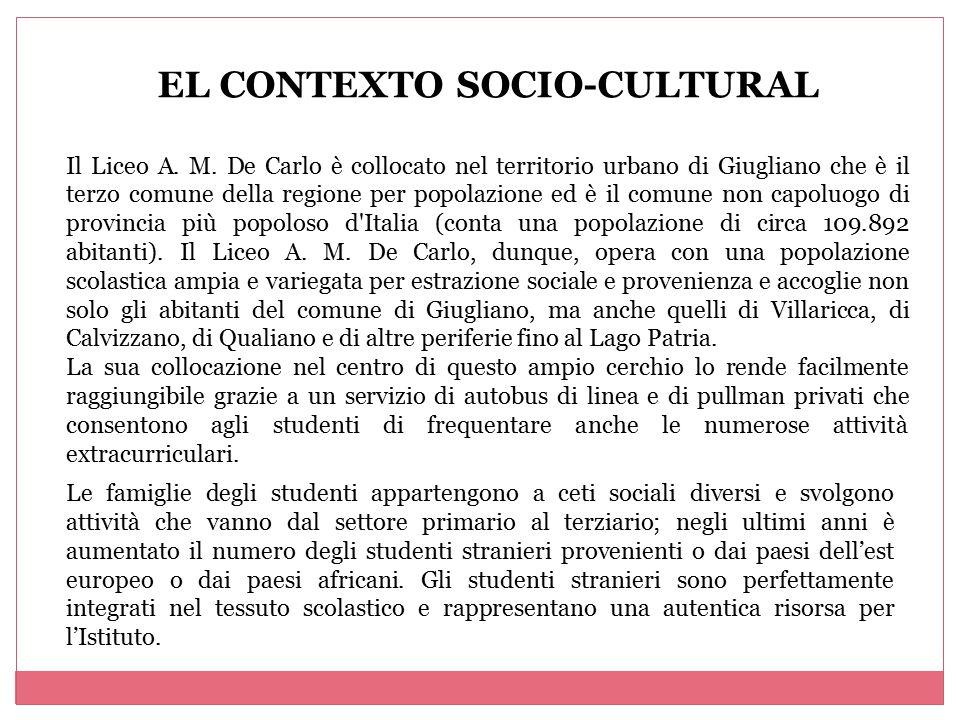 EL CONTEXTO SOCIO-CULTURAL