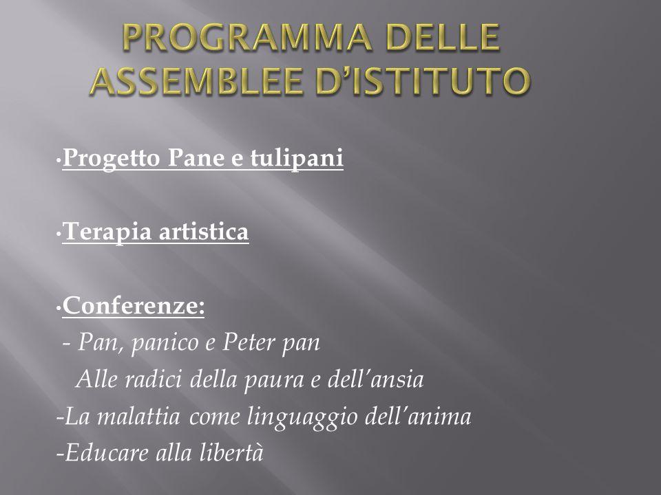 Programma delle assemblee d'Istituto