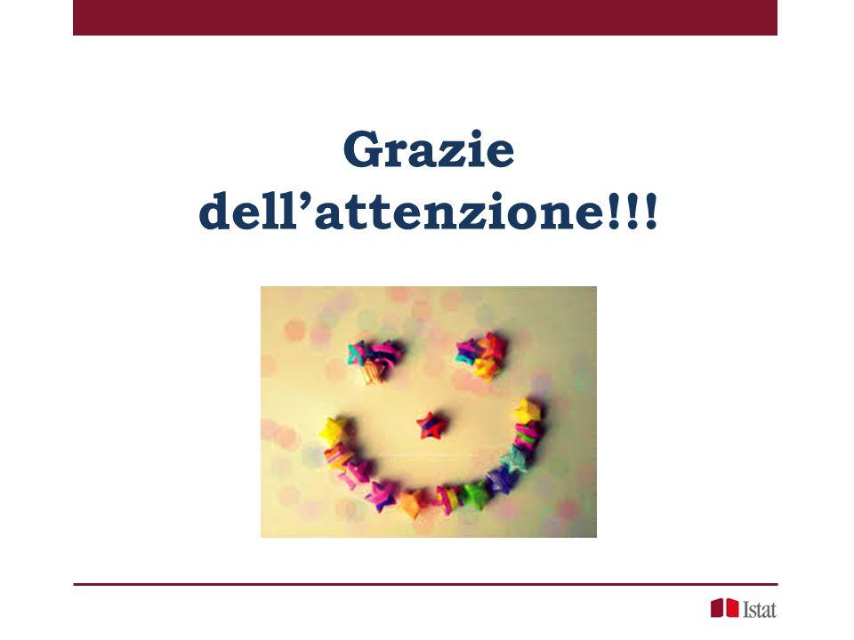 Grazie dell'attenzione!!!