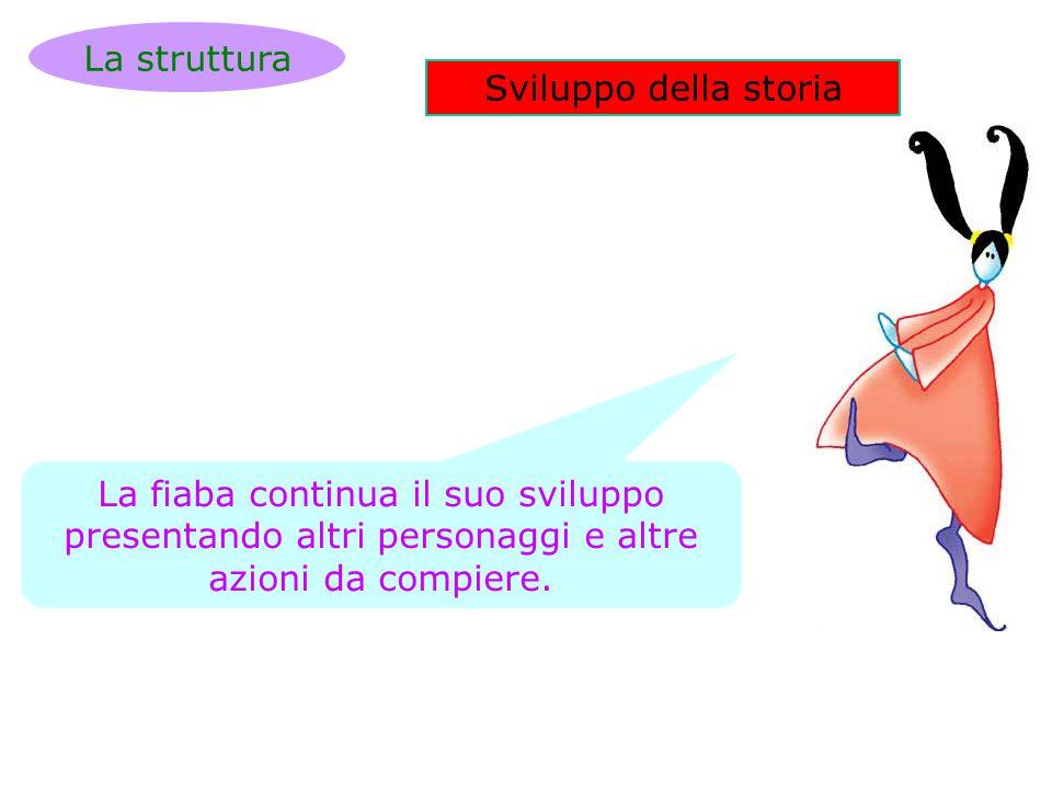 La struttura Sviluppo della storia.