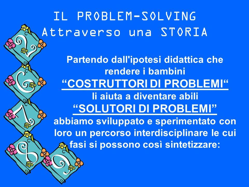 IL PROBLEM-SOLVING Attraverso una STORIA