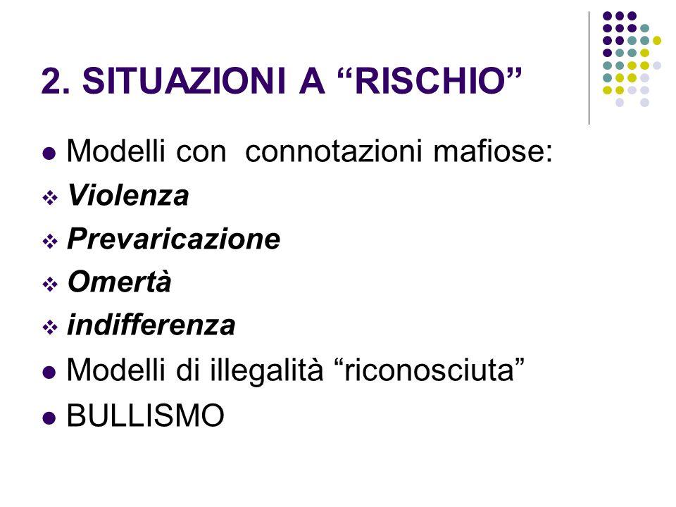 2. SITUAZIONI A RISCHIO