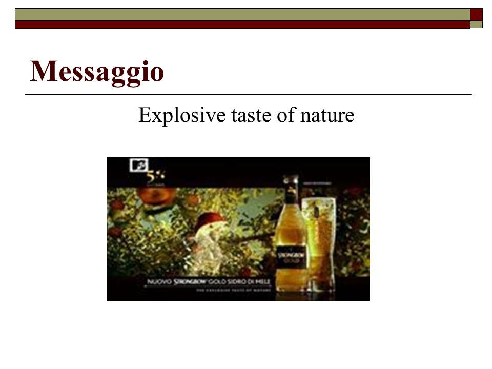 Explosive taste of nature