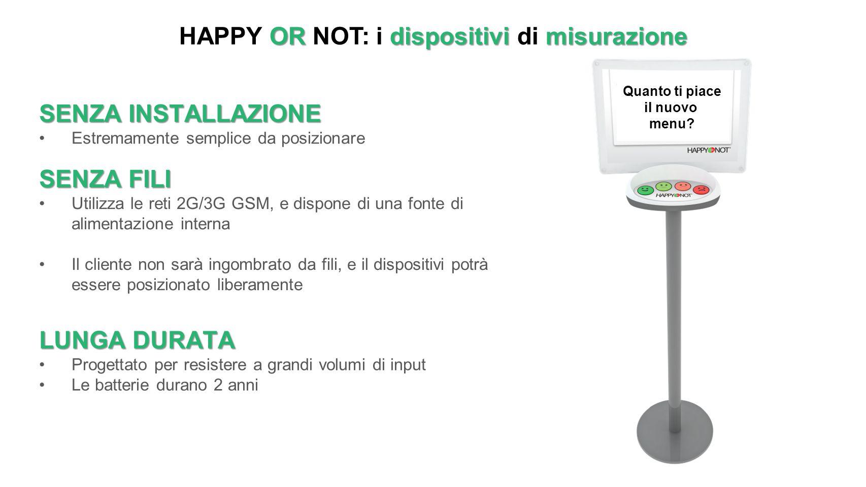 HAPPY OR NOT: i dispositivi di misurazione