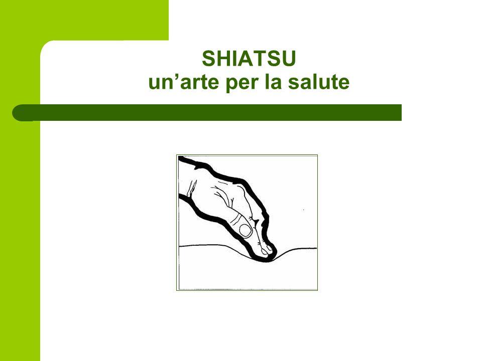 SHIATSU un'arte per la salute