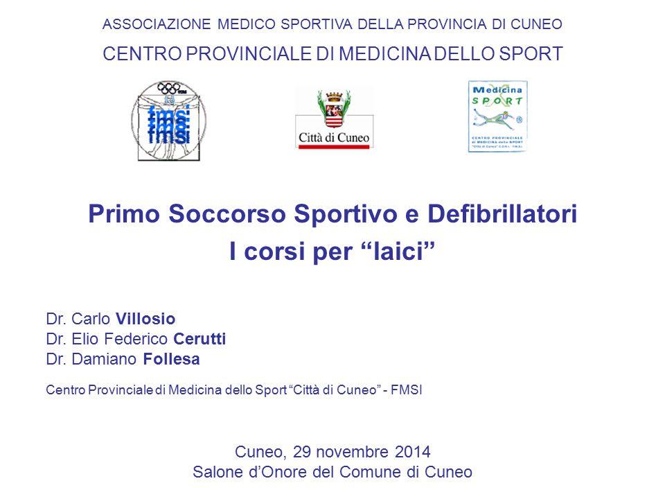 Primo Soccorso Sportivo e Defibrillatori