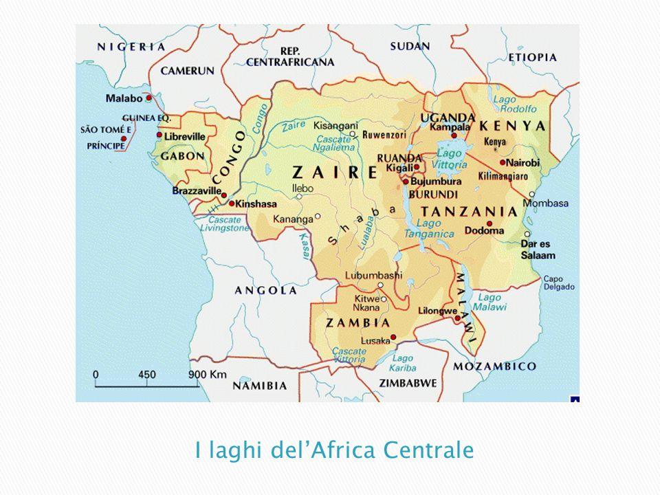 I laghi del'Africa Centrale