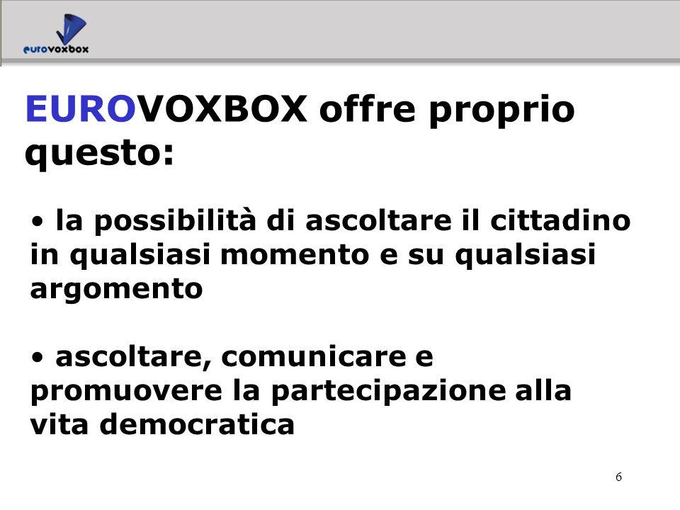 EUROVOXBOX offre proprio questo: