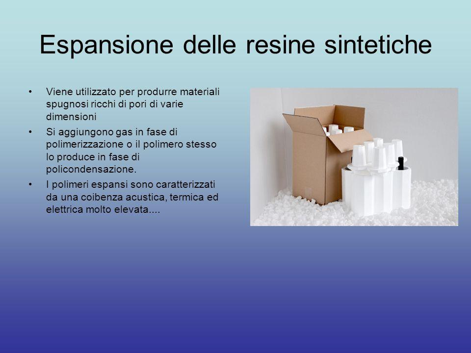 Espansione delle resine sintetiche