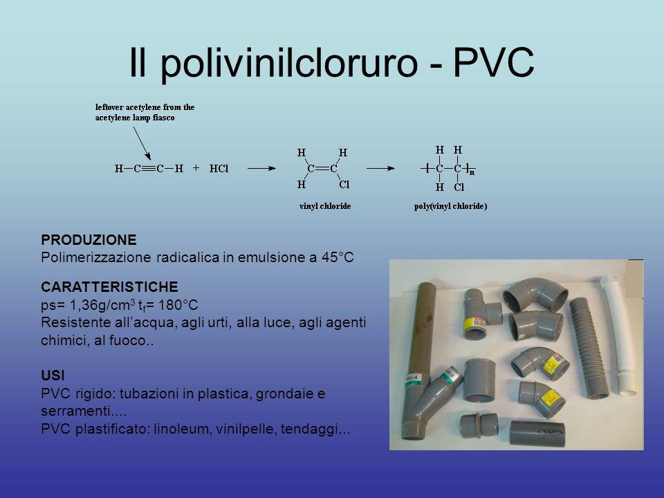 Il polivinilcloruro - PVC
