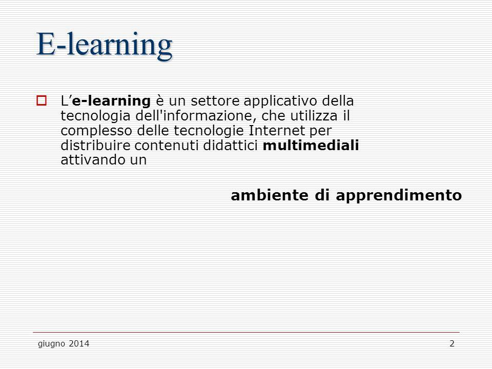 E-learning ambiente di apprendimento