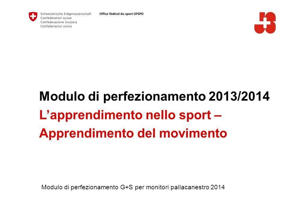 Modulo di perfezionamento 2013/2014