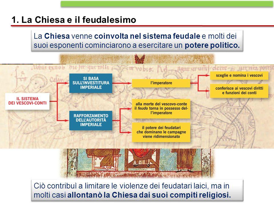 1. La Chiesa e il feudalesimo