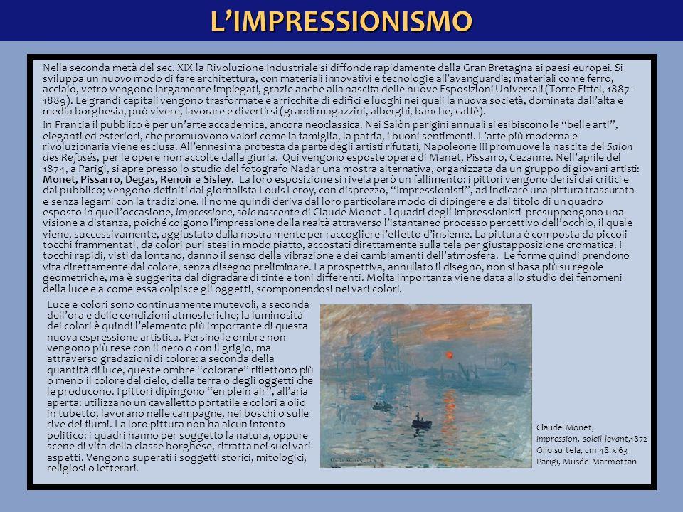 L'IMPRESSIONISMO