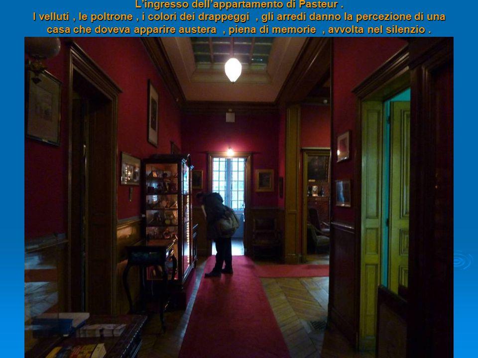 L'ingresso dell'appartamento di Pasteur