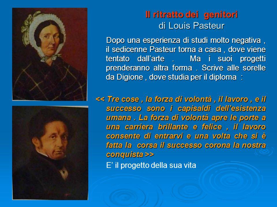 Il ritratto dei genitori di Louis Pasteur