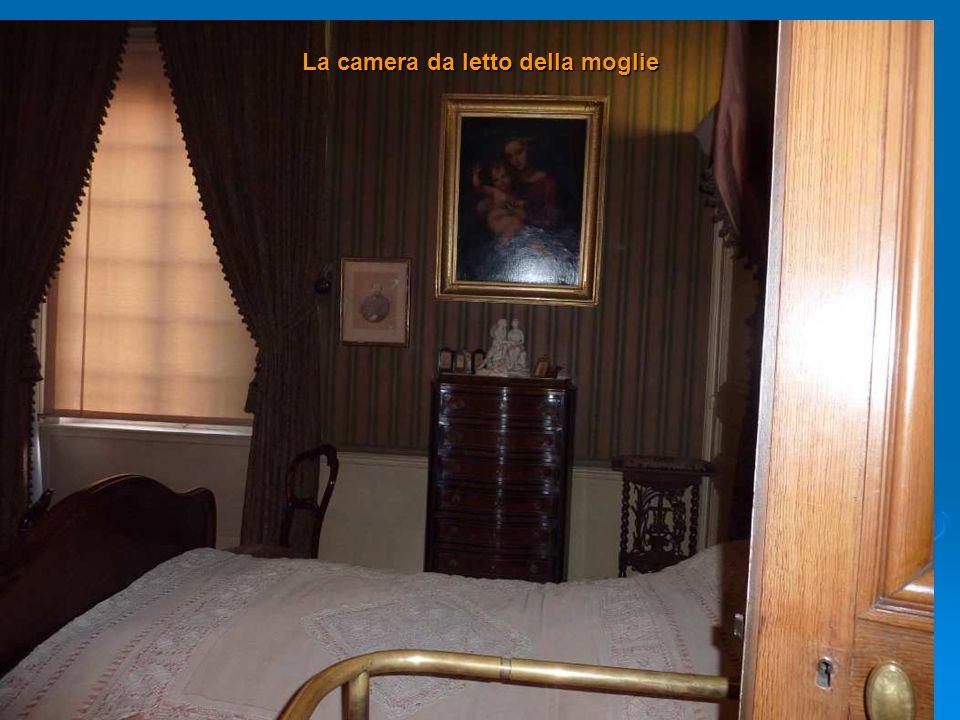 La camera da letto della moglie