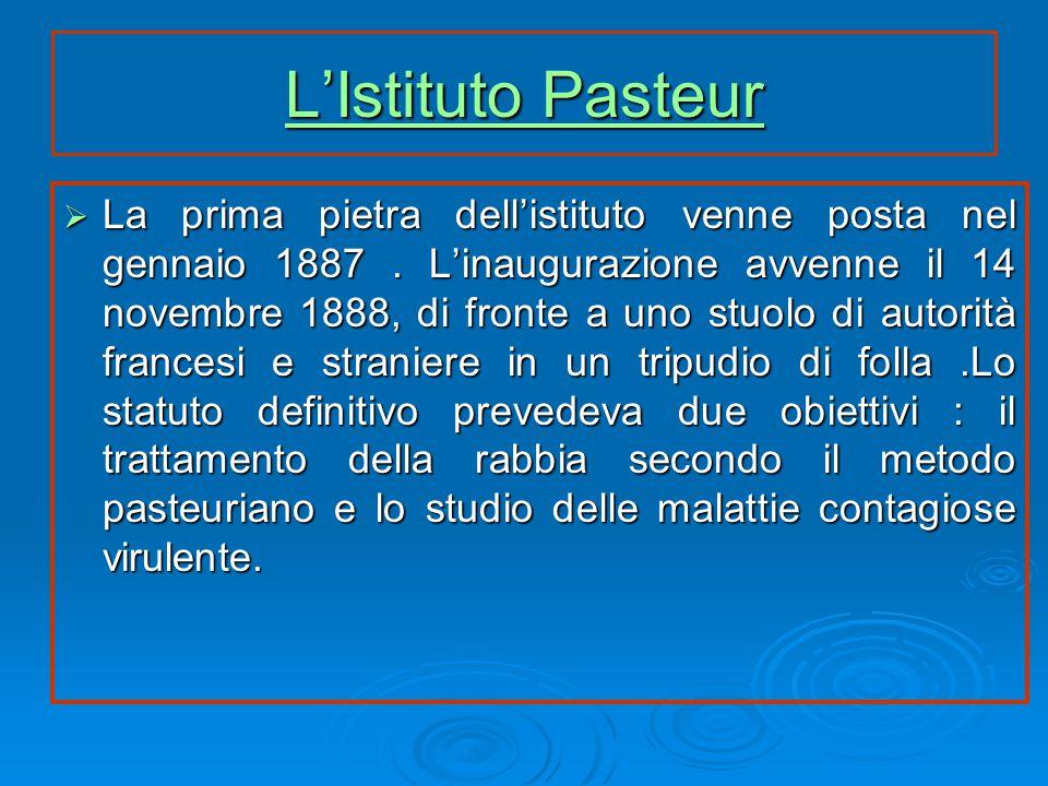 L'Istituto Pasteur